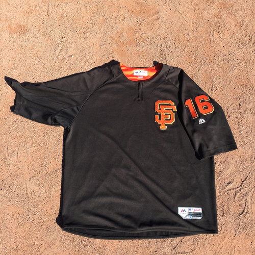 San Francisco Giants - 2017 Team-Issued Batting Practice Jersey Worn by #16 Phil Nevin (Size: 2XL)