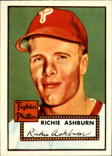 Photo of 1983 Topps 1952 Reprint #216 Richie Ashburn