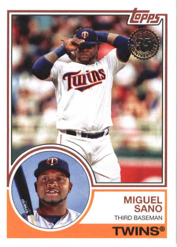 Photo of 2018 Topps '83 Topps #8337 Miguel Sano