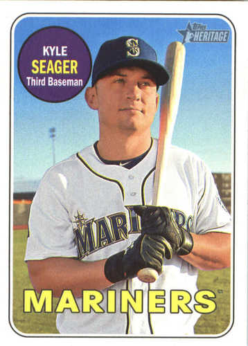 Photo of 2018 Topps Heritage #233 Kyle Seager