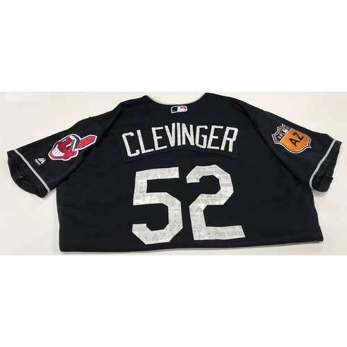 Photo of Mike Clevinger 2017 Spring Training Jersey