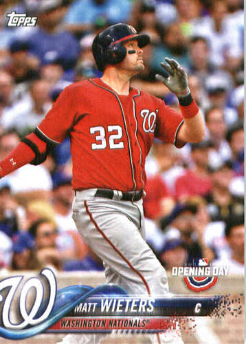 Photo of 2018 Topps Opening Day #191 Matt Wieters