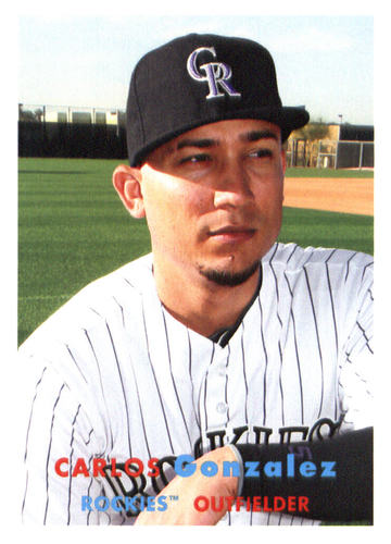 Photo of 2015 Topps Archives #38 Carlos Gonzalez
