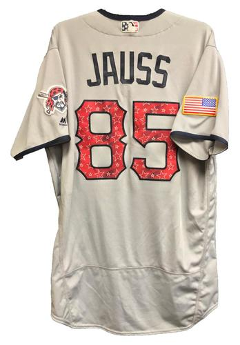 Photo of Dave Jauss Team-Issued 2018 Stars and Stripes Jersey