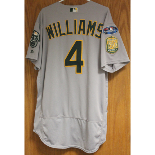 Photo of Game-Used Matt Williams 2018 Jersey