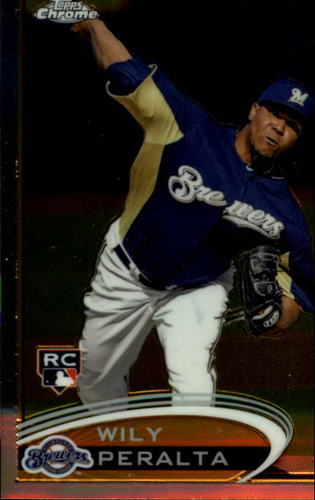 Photo of 2012 Topps Chrome #194 Wily Peralta RC