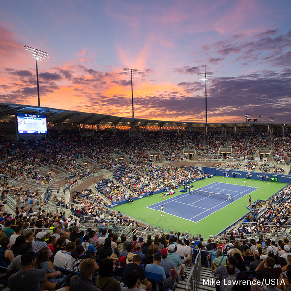 Clickable image to visit Package #1: Tickets to the US Open Finals & 2 Night Stay at the InterContinental Barclay in New York City