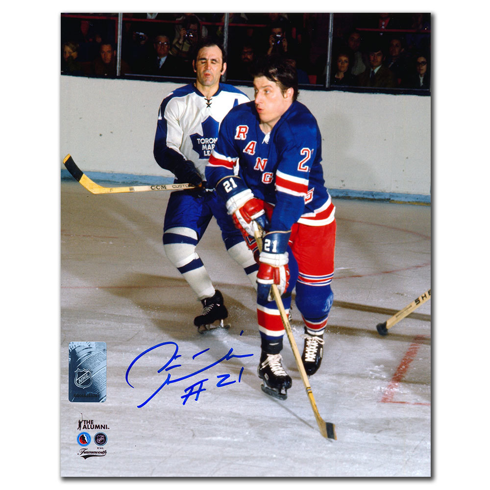 Pete Stemkowski New York Rangers Autographed 8x10