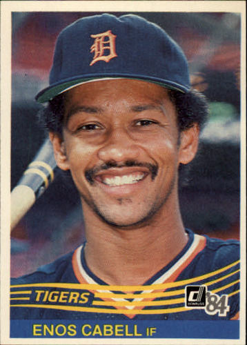 Photo of 1984 Donruss #456 Enos Cabell