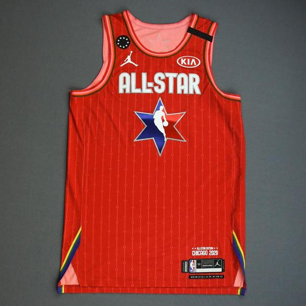 Image of Kyle Lowry - 2020 NBA All-Star - Game-Worn Jersey Charity Auction - Team Giannis - 1st and 2nd Quarter