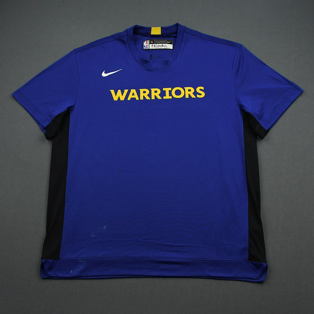 Eric Paschall - 2020 NBA Rising Stars - Team USA - Warm-up and Game-Worn Shooting Shirt