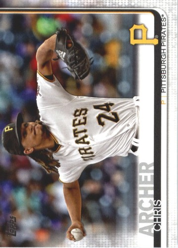 Photo of 2019 Topps #380 Chris Archer