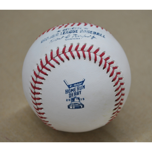 Photo of Game-Used Baseball - 2019 Home Run Derby - Joc Pederson - Round 2 - Home Run 25