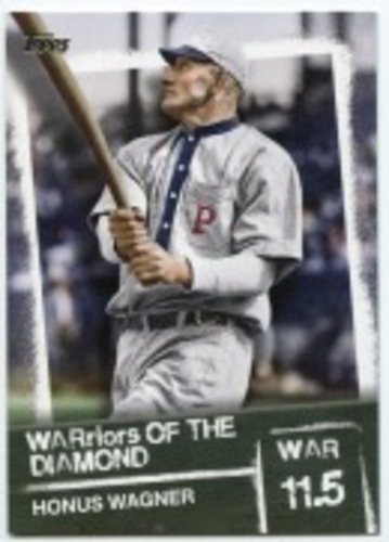 Photo of 2020 Topps Warriors of the Diamond #WOD10 Honus Wagner