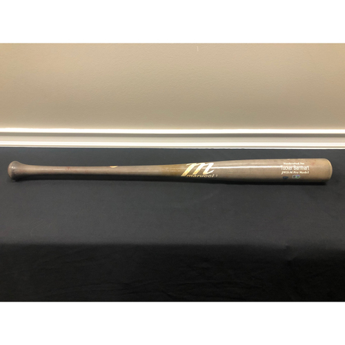Tucker Barnhart -- Team-Issued Broken Bat -- 2020 Season