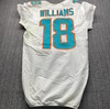 STS - Dolphins Preston Williams Game Used Jersey (11/8/20) Size 40