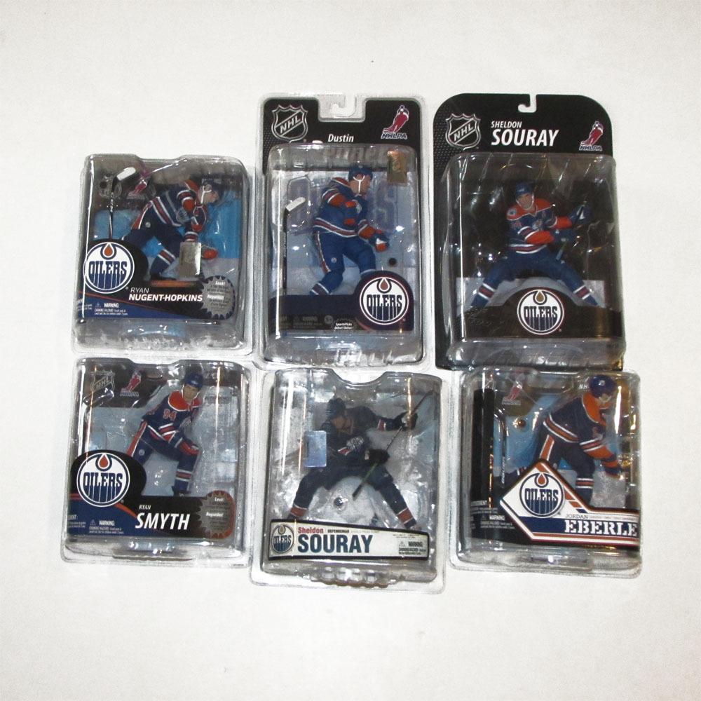 Edmonton Oilers McFarlane Figurine Lot - Six Figures