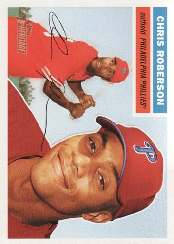 Photo of 2005 Topps Heritage #381 Chris Roberson RC