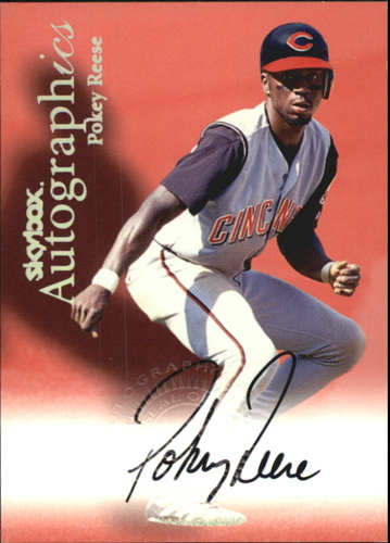 Photo of 2000 SkyBox Autographics #105 Pokey Reese