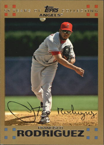 Photo of 2007 Topps Gold #422 Francisco Rodriguez