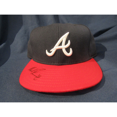 Braves Charity Auction - Mike Foltynewicz Autographed Hat