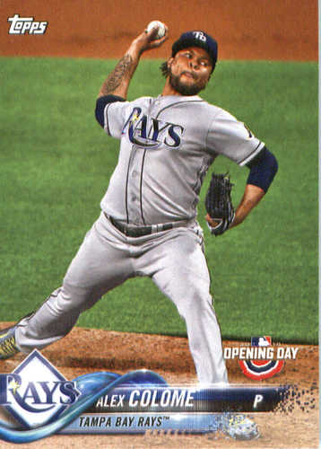 Photo of 2018 Topps Opening Day #194 Alex Colome