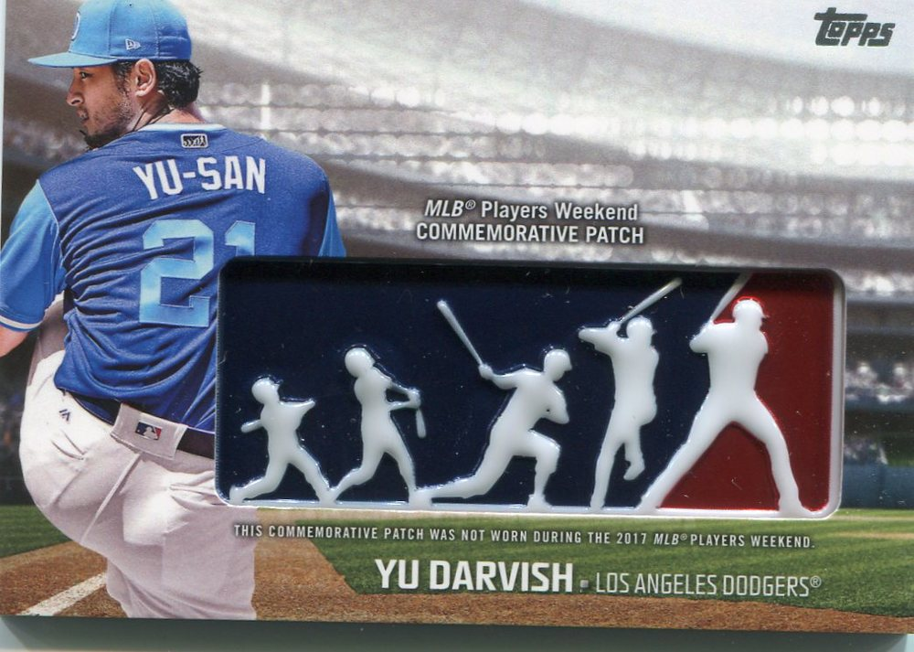 2018 Topps Players Weekend Patches #PWPYD Yu Darvish