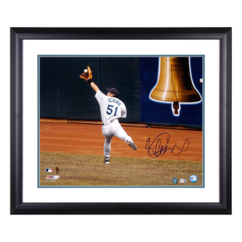 "Photo of Ichiro Suzuki Seattle Mariners Autographed 16"" x 20"" Framed Photo"