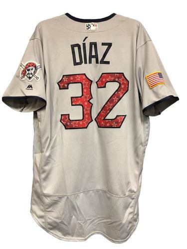 Photo of Elias Diaz Game-Used Stars & Stripes Jersey