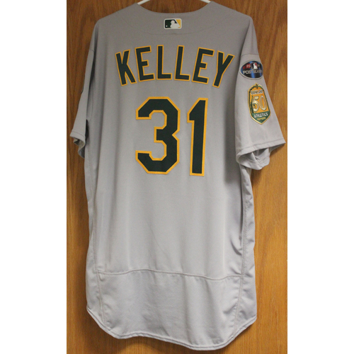 Photo of Game-Used Shawn Kelley 2018 Jersey