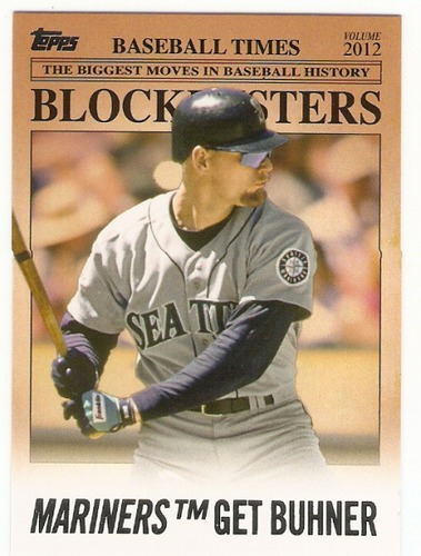 Photo of 2012 Topps Update Blockbusters #BB6 Jay Buhner