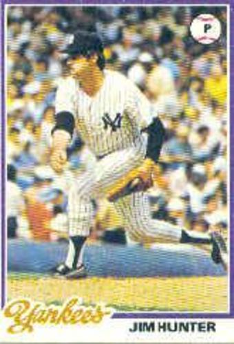 Photo of 1978 Topps #460 Jim Hunter