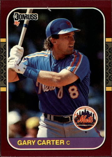 Photo of 1987 Donruss Opening Day #130 Gary Carter