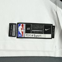 Damian Lillard - Portland Trail Blazers - 2018-19 Season - Canada Series - Game-Worn White Association Edition Jersey