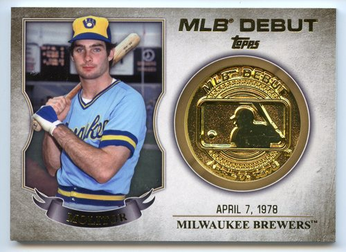Photo of 2016 Topps MLB Debut Medallion #MLBDM28 Paul Molitor