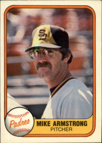Photo of 1981 Fleer #503 Mike Armstrong RC