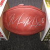 PCC - Raiders Marcus Mariota Signed Authentic Football w/ 100 Seasons Logo
