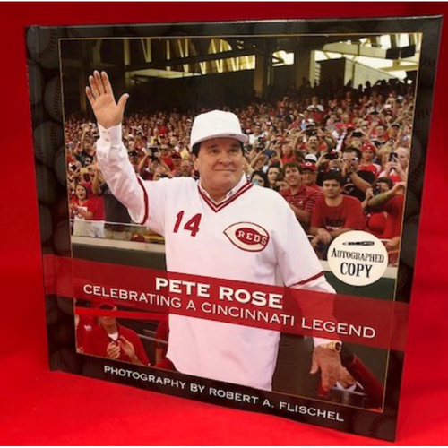 Pete Rose Autographed 2016 Induction Photo Book with Collectors Program