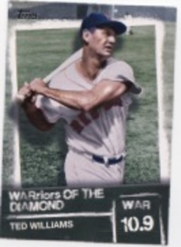Photo of 2020 Topps Warriors of the Diamond #WOD12 Ted Williams