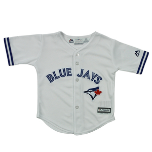 Toronto Blue Jays Toddler Cool Base Replica Home Jersey by Majestic