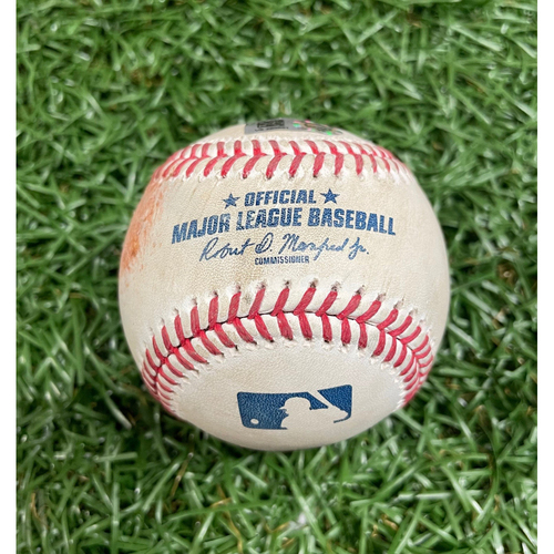 Photo of Game Used Baseball: Ryan Yarbrough strikes out Danny Jansen - Top 3 - July 10, 2021 v TOR