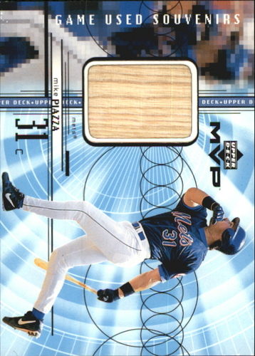 Photo of 1999 Upper Deck MVP Game Used Souvenirs #GUMP Mike Piazza
