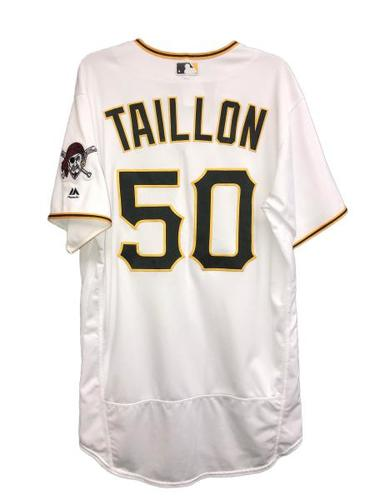 Photo of Jameson Taillon Game-Used Jersey
