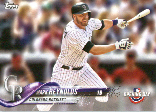 Photo of 2018 Topps Opening Day #198 Mark Reynolds