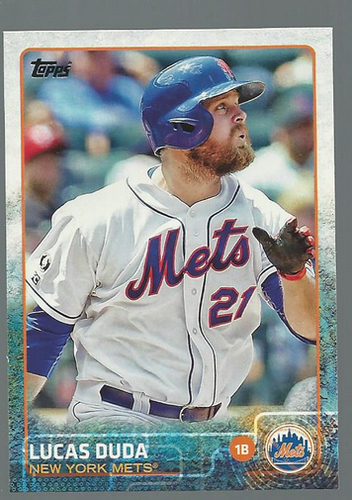 Photo of 2015 Topps #237 Lucas Duda