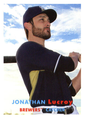 Photo of 2015 Topps Archives #44 Jonathan Lucroy