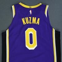 Kyle Kuzma - Los Angeles Lakers - Game-Worn Statement Edition Jersey - 2018-19 Season