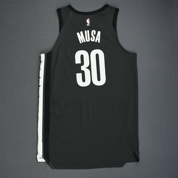 wholesale dealer def88 09fbe Dzanan Musa - Statement Edition Playoffs Jersey - Dressed ...
