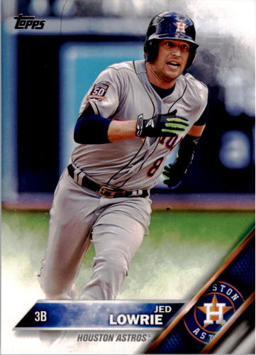 Photo of 2016 Topps #38 Jed Lowrie