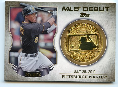 Photo of 2016 Topps MLB Debut Medallion #MLBDM238 Starling Marte